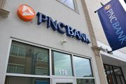No. 3 (of 20): PNC Bank  Net loans: +$3.7B, or 2 percent, to $189.9B Real estate loans: +$342M, or 0.4 percent, to $84.5B Commercial loans: +$2.1B, or 3.3 percent, to $67B Note: Three month change in loans outstanding as of June 30. Source: Federal Financial Institutions Examination Council