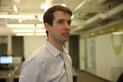 Ross Moser, vice president of customer operations at SurveyMonkey, explains the company's open office culture.