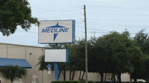 Medline Industries, which is based in Mundelein, Ill., plans to produce infection control and prevention products at the Hartland facility.