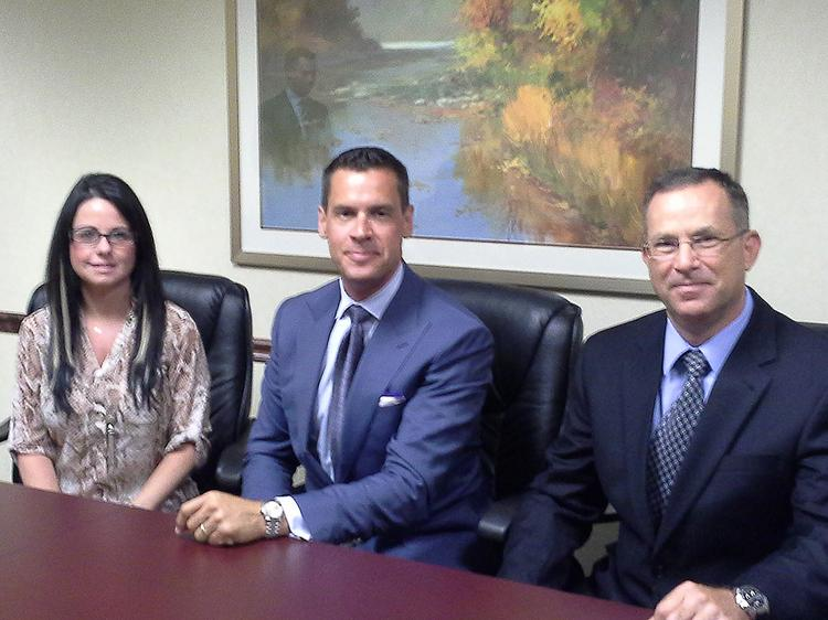 Melanie LaRose, Andrew Halliday and Yoav Millet of Halliday Financial Group say the new investment bank will structure deals ranging from $5 million to $50 million.