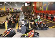 Cushman & Wakefield employees take time to race out of the office.