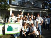 CBRE uses its CBRE Cares program to bring employees together.