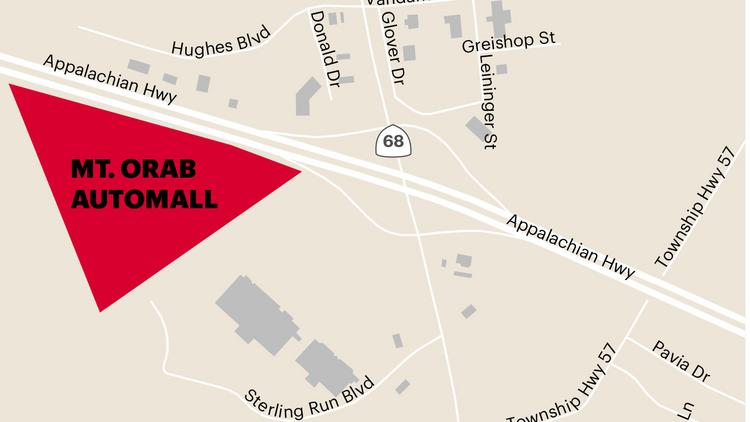 Mt Orab Auto Mall >> Mark Williams Auto Group To Build 18m Automall In Mount Orab
