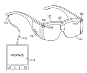 Golf glasses. Nike got a patent July 4 for glasses that let golfers track the flight of a ball and compare its trajectory to an ideal trajectory. The glasses can also display information about launch speed and flight distance in order to help the golfer make club selections and swing adjustments.