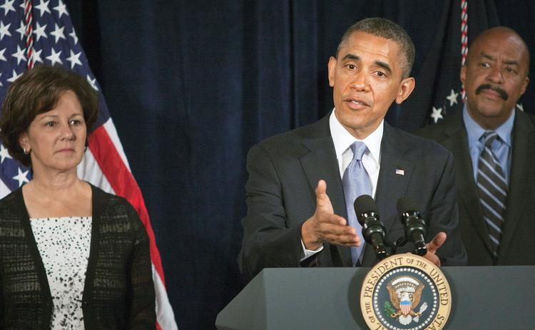 President Obama lauded California's exchange during a recent visit to San Jose.