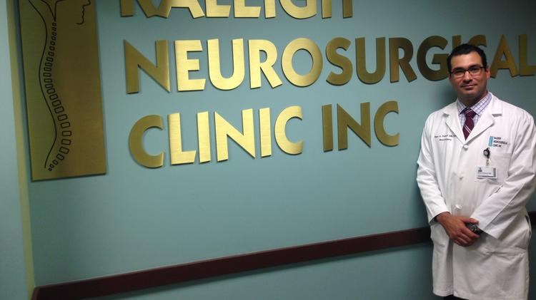 Addition of Raleigh Neurosurgical Clinic doctor bolsters