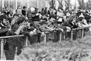 Race day crowds were a common sight at Portland Meadows 30 years ago.