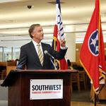 Haslam touts TN Promise's first class at SWTNCC