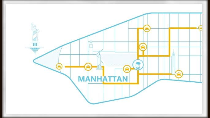 The New York startup has been tested in 7,000 NYC cabs and is slated to launch in September.