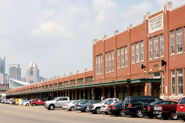 The Produce Terminal in the Strip District.