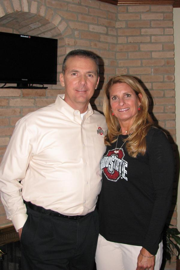 Urban Meyer and his wife, Shelley, have started a cancer research fund at James Cancer Hospital