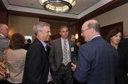 Attendees gathered for networking before lunch at the CIO of the Year Awards.