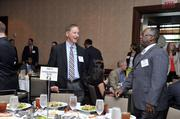 From left: Bruce Miller and Eric Christian, both of Carolinas HealthCare System