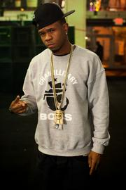 Hip-hop artist Chamillionaire at the Compound.