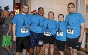 A group of runners from One Source Staffing.