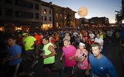 Runners take off down North Jefferson Street.