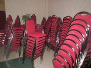 ... banquet chairs ...
