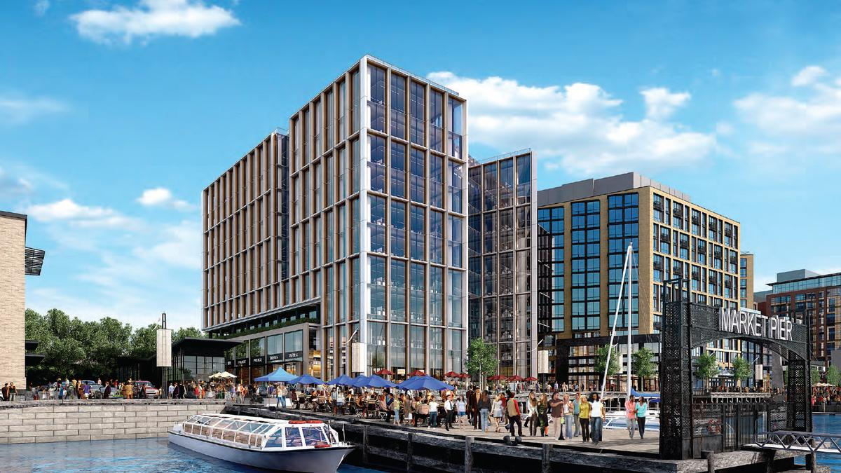 Fish richardson pc signs lease for the wharf for Fish law firm