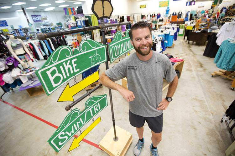 General Manager Rich Deborba heads up the Sports Basement in Campbell, a new location seeing lots of growth.