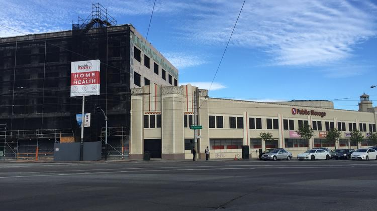 The Public Storage Building On Mission And South Van Ness Is Zoned To Rise  From Four