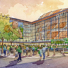 Seattle Arena design updated to add pedestrian bridge and room for 3-on-3 tournaments