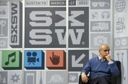 Yuri Milner, co-founder of Mail.ru Group Ltd., pauses while speaking during an interview at the South by Southwest Interactive Festival on Saturday, March 9. The Russian investor, whose early bet on Facebook Inc. made him a billionaire, sees the social-network as one of the three websites that will endure for 100 years.