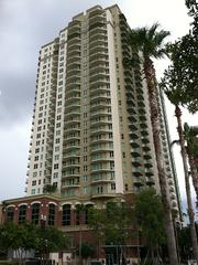 The Strand, on Downtown Jacksonville's Southbank, is listed for sale.
