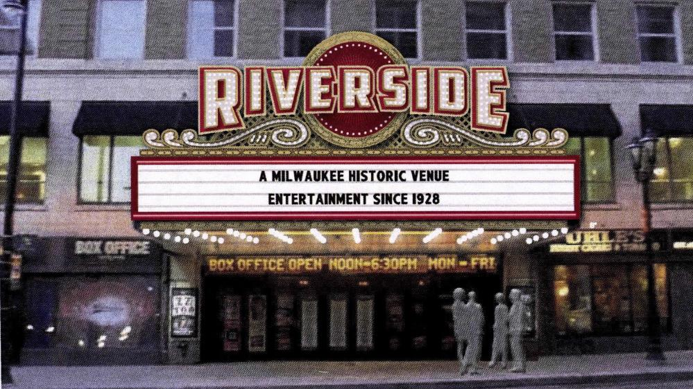 riverside theaters new marquee exterior sign to be
