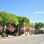 St. Paul Square is also a National Register District known as the Southern Pacific Depot Historic District. (source: www.SaCulturalTours.com)