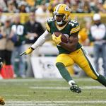 Jordy Nelson, <strong>Randall</strong> <strong>Cobb</strong>, Davante Adams replace Aaron Rodgers in Associated Bank ads