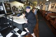 Mike Topolovich took over the North Avenue Grill in January.