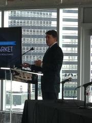 The Stream Realty State of the Market event was held inside the new BBVA Compass Plaza at 2200 Post Oak.