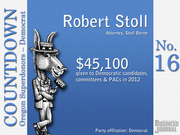 #16. Robert Stoll - Attorney, Stoll Berne  Total contributions: $45,100