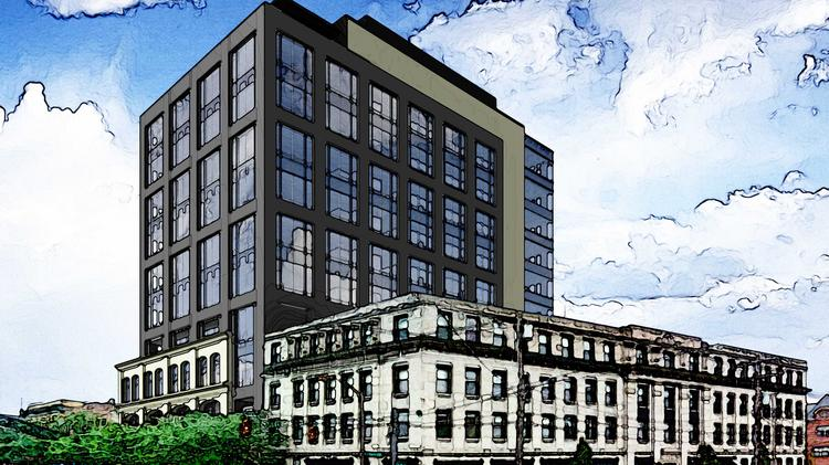 Developers Plan High Rise In Short North With Cameron