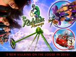 Six Flags Over Texas gets villainous with three new rides