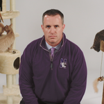 Northwestern University coach <strong>Pat</strong> <strong>Fitzgerald</strong>'s stern warning in new Big Ten Network ad