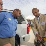 Piedmont opens natural gas pumps at Spinx convenience store