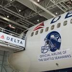 Delta takes Seahawks spirit, competition with Alaska Airlines, up a notch – fans can earn air miles