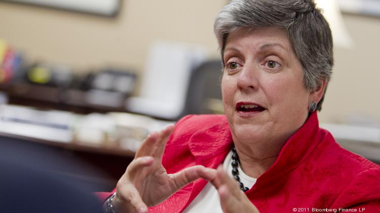 "University of California President Janet Napolitano: ""Our nation now faces a crucial decision of whether the innovation ecosystem … will continue to thrive as we have known it."""