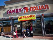 No. 42: Family Dollar Stores - Based in Matthews, N.C., it has 47 Dayton-area stores with total 2012 U.S. retail sales of $9.3 billion, a 9.2 percent growth.