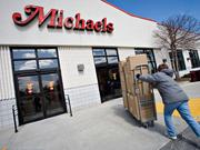 No. 88: Michaels Stores - Based in Irving, Texas, it has 3 Dayton-area stores with total 2012 U.S. retail sales of $3.9 billion, a 4.3 percent growth.