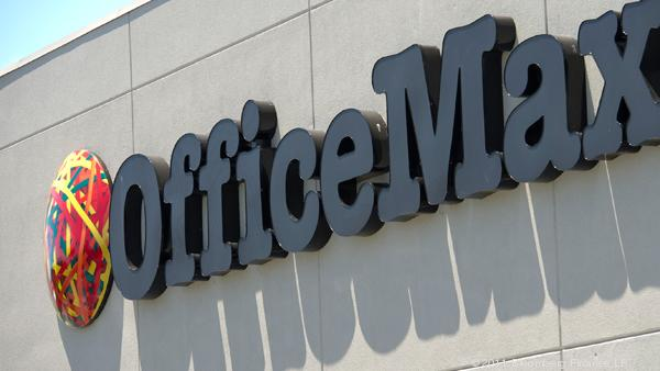 The OfficeMax store on West Kellogg in Wichita is due to close May 31 as the merger of OfficeMax and Office Depot proceeds.