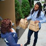 Seahawks' <strong>Richard</strong> <strong>Sherman</strong> helps Amazon deliver Prime Now order