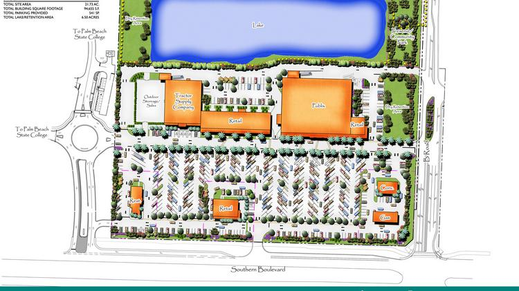 Bb T Funds Construction Of Publix Anchored Loxahatchee Groves