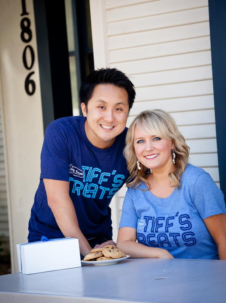 Leon Chen and Tiffany Taylor founded Tiff's Treats when they were students at the University of Texas.