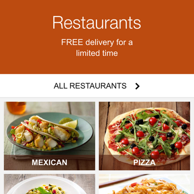 Restaurant Food Delivery Service Baltimore