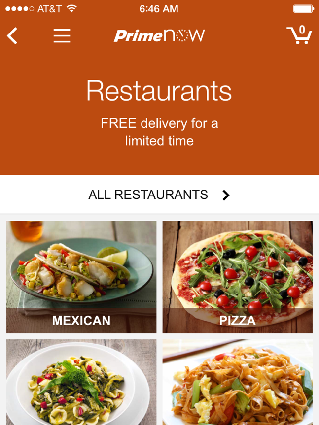 Amazon Launches Restaurant Delivery Service In Baltimore