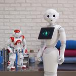 Meet Pepper, the humanoid robot with a (somewhat salty) sense of humor
