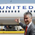 United Airlines CEO <strong>Jeff</strong> Smisek abruptly resigns