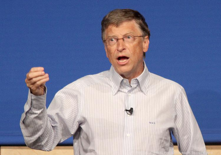Could Microsoft pick a CEO that Bill Gates doesn't approve of? No. No it could not.